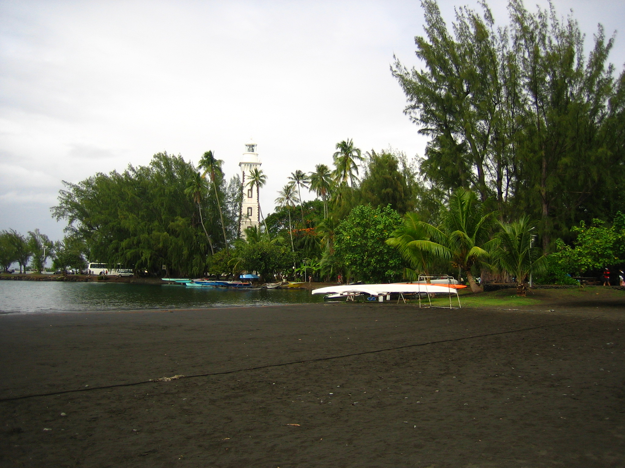 Tahiti - Black Sand Beach 2